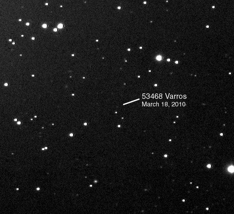 asteroid 53468 Varros Mar 18, 2010